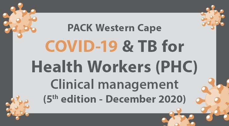 PACK Western Cape COVID-19 and TB