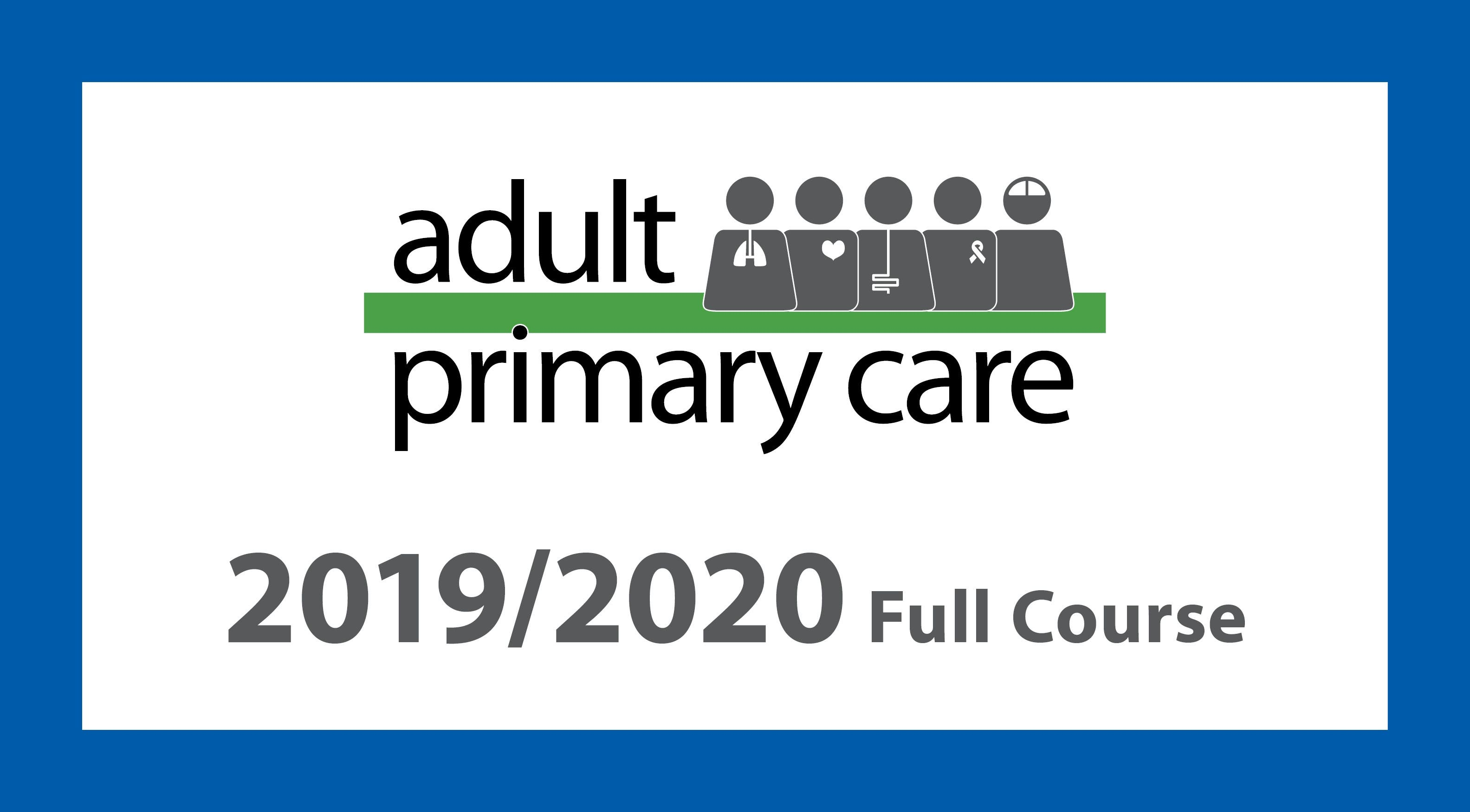 Adult Primary Care 2020 full course