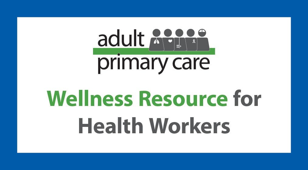 APC Wellness Resource for Health Workers