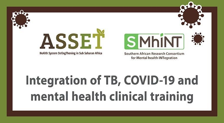 Integration of TB, COVID-19 and mental health clinical training